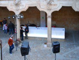 Bar en la Casa de las Conchas. Salamanca