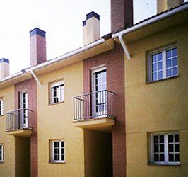 Viviendas adosadas en Tudela de Duero. Valladolid